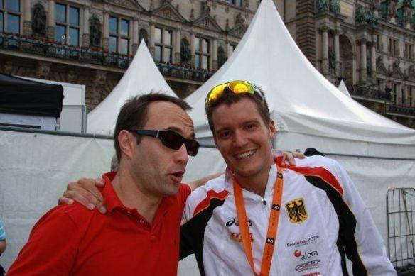 Jan Frodeno y yo
