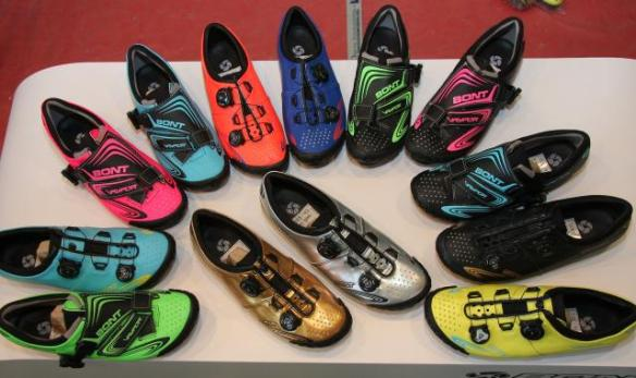 07 - Bont now offers the Vaypor and Vaypor Plus in any combination you like of 14 colours.