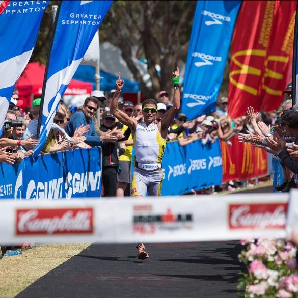 2012 Ironman Shepparton 70.3 Triathlon. Shepparton, Victoria, Australia. 18/11/2012. Photo By Lucas Wroe