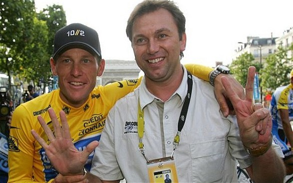 Lance and Bruyneel