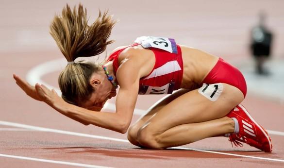 Athlete Crying