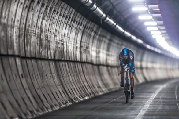 Chris Froome - Eurotunnel