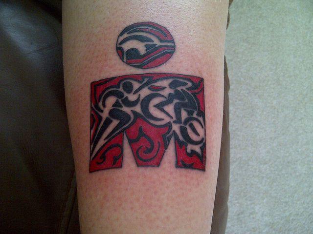 Bad Ass Ironman tattoo