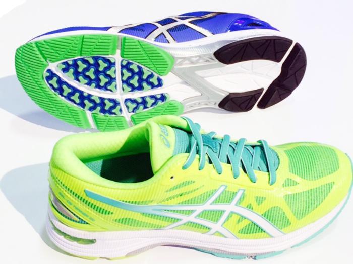 Asics Gel Evolution  Womens Lightning Hot Pink Running Shoes