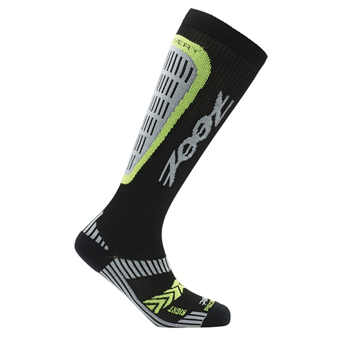 zoot_recovery-crx2-sock_black-yellow